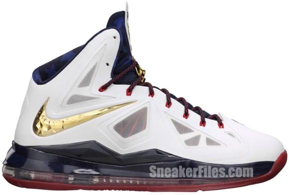 Release Reminder: Nike LeBron X+ Sport Pack 'Gold Medal'