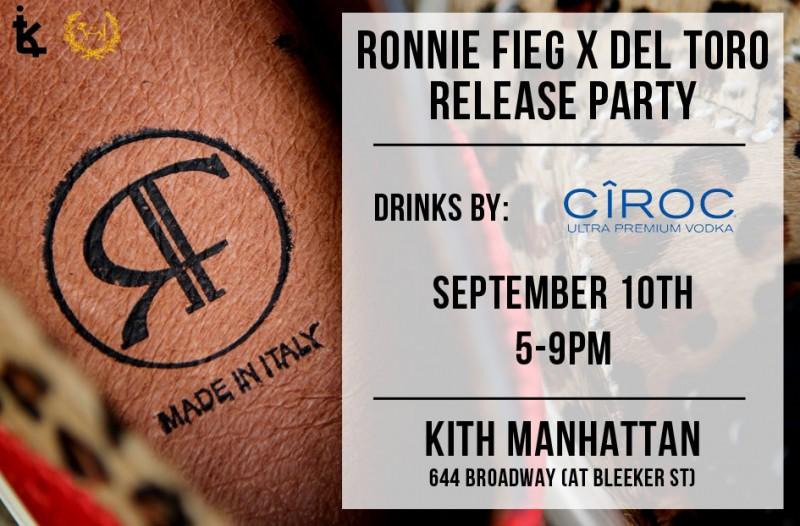 Ronnie Fieg x Del Toro Release Party
