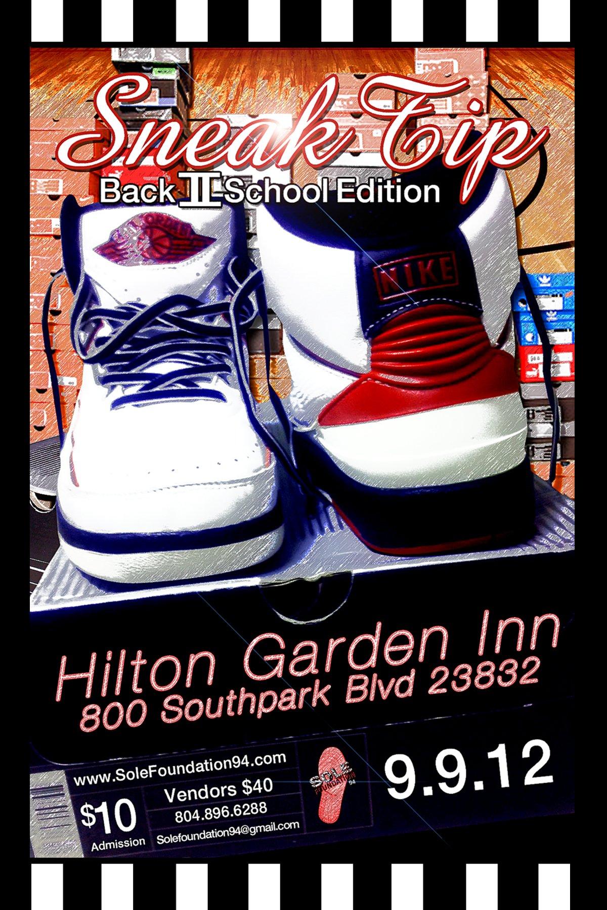 SneakTip Back II School Sneaker Convention