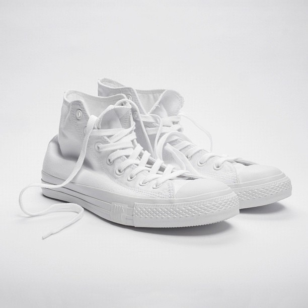 UNDFTD x fragment design x Converse Chuck Taylor All-Star 'Whiteout'