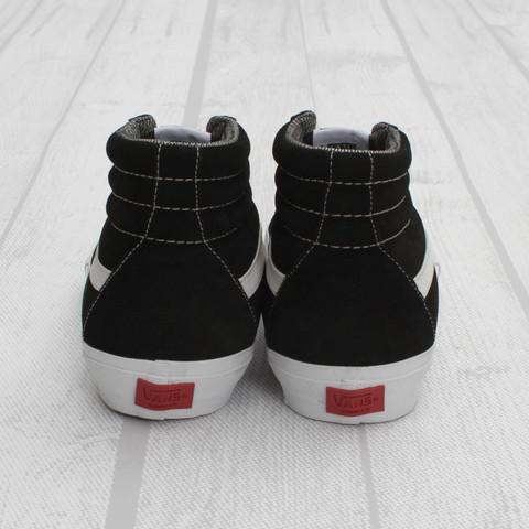 Furgoni Sindacato Sk8-hi Pro-nero / Bianco z4Tf47iA