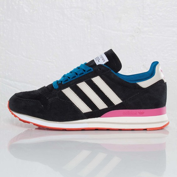 adidas Originals Blue ZX 500 'Black/Light Clay/Dark Royal'