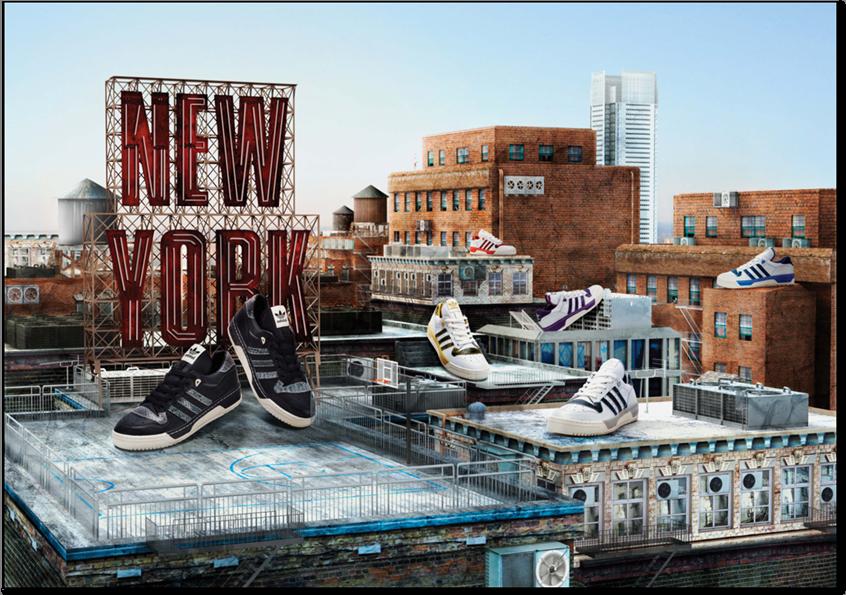 adidas Originals SoHo Store 10th Anniversary NY Rivalry Lo