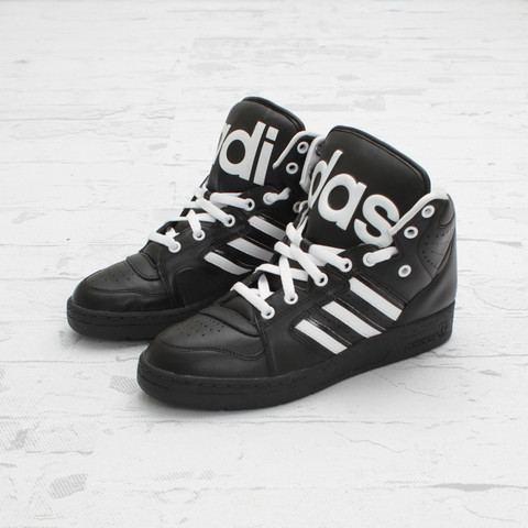 adidas Originals by Jeremy Scott JS Instinct Hi 'Black/White'