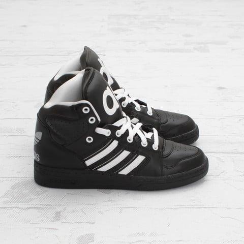 c295722478a3 adidas Originals by Jeremy Scott JS Instinct Hi  Black White ...