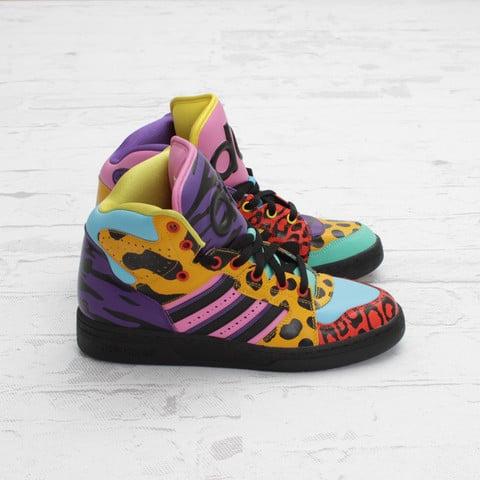 adidas Originals by Jeremy Scott JS Instinct Hi 'Purple/Aqua/Black'