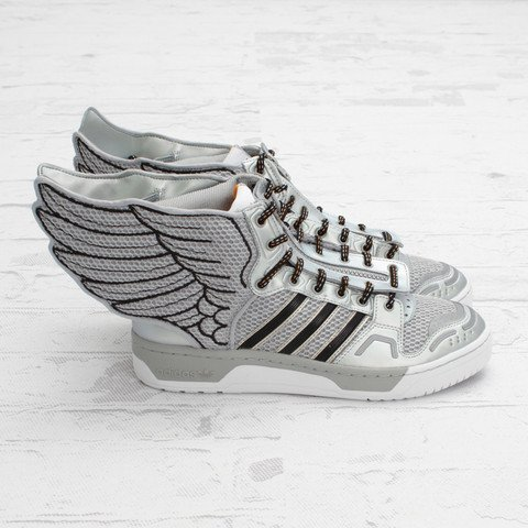 adidas Originals by Jeremy Scott JS Wings 2.0 'Metallic Silver'
