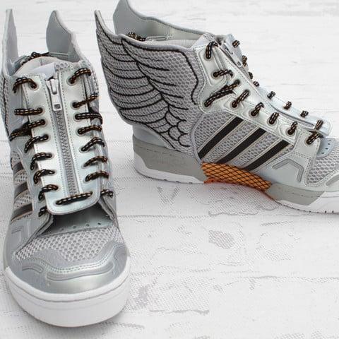 adidas Originals by Jeremy Scott JS Wings 2.0 'Metallic Silver'