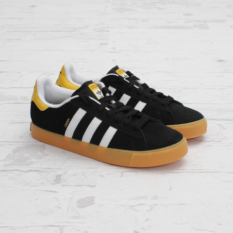 adidas Skateboarding Campus Vulc 'Black/Run White'