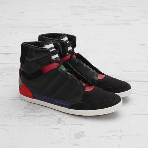 release date: 76f65 2125b adidas Y-3 Honja High  Black Run ...