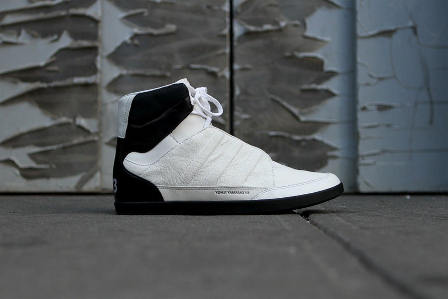 cabd3658161e1 adidas Y-3 Honja High  White