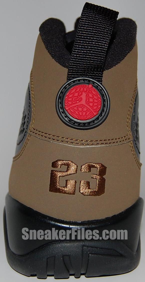 Air Jordan 9 (IX) Olive 2012 Retro Epic Look