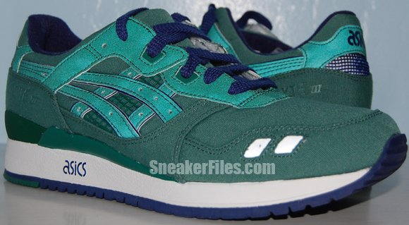 Bait x Asics Gel-Lyte III (3) Green Ring Olympic Rings Pack Video Review