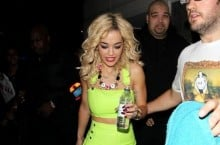 Celebrity Sneaker Watch: Rita Ora Shows Off Her 'Volt Pack' Kicks