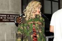 Celebrity Sneaker Watch: Rita Ora Wearing Air Jordan III 'Black/Cement'
