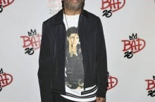 Celebrity Sneaker Watch: Spike Lee in Air Jordan 7 'Bad 25′ Custom