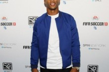 Celebrity Sneaker Watch: Victor Cruz Hits Red Carper in Nike Air Penny 5 'Orlando'