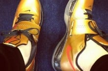 Celebrity Sneaker Watch: Victor Cruz Picks Up Nike Zoom KD IV 'Gold Medal'