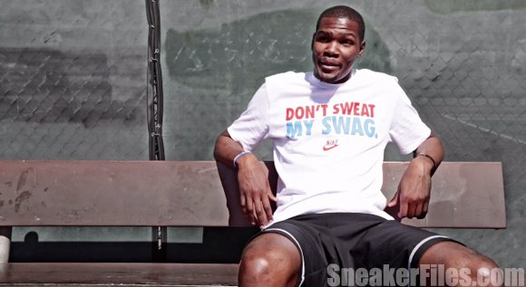 Kevin Durant Talks About Being Better than his Brother, Favorite Place to Eat and More