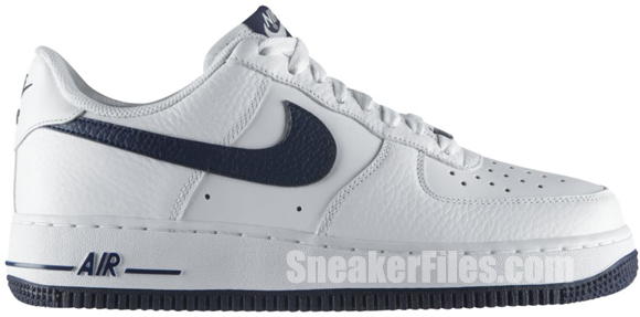 nike force 1 navy