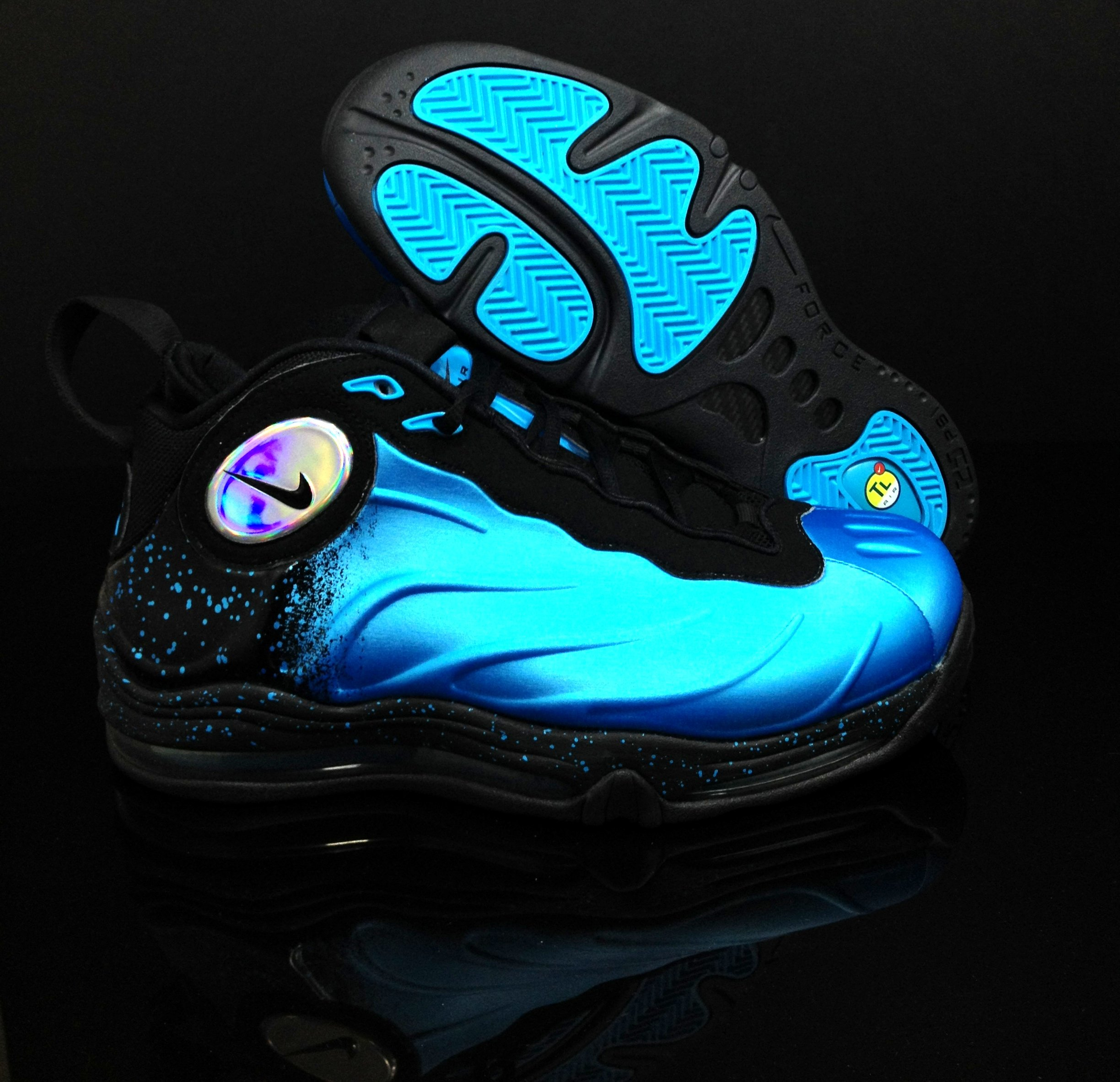 Nike Total Air Foamposite Max Current Blue at AWOL
