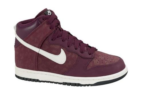 Nike WMNS Dunk High  Bordeaux Sail-Seaweed  at NikeStore  4f174ce297