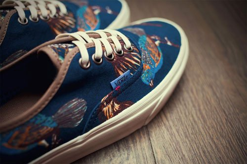 f7f8f0af05 best Vans California Fall Winter 2012 Birds Authentic CA Pack ...