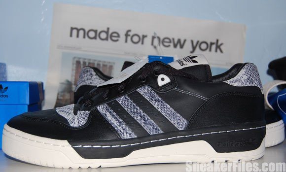 Video: adidas Rivalry Low Black Neo White Made for New York 10th Anniversary SoHo