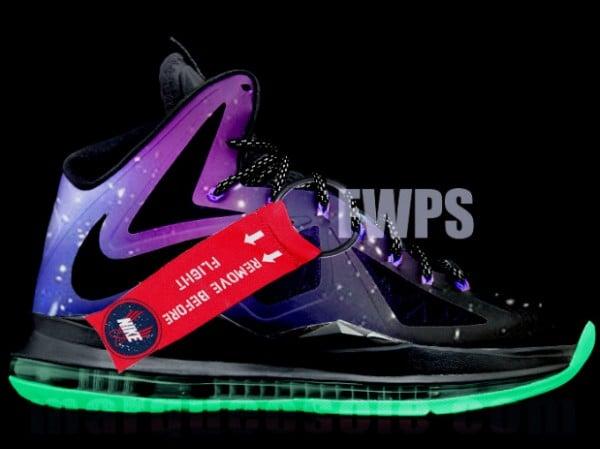 What If  Nike LeBron X  Galaxy   ed54f3ade