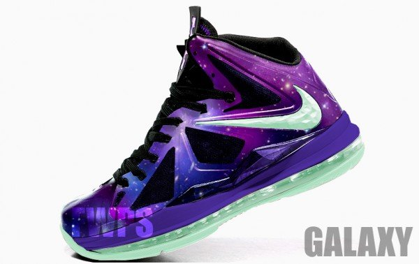 What If Nike Lebron X Galaxy Sneakerfiles