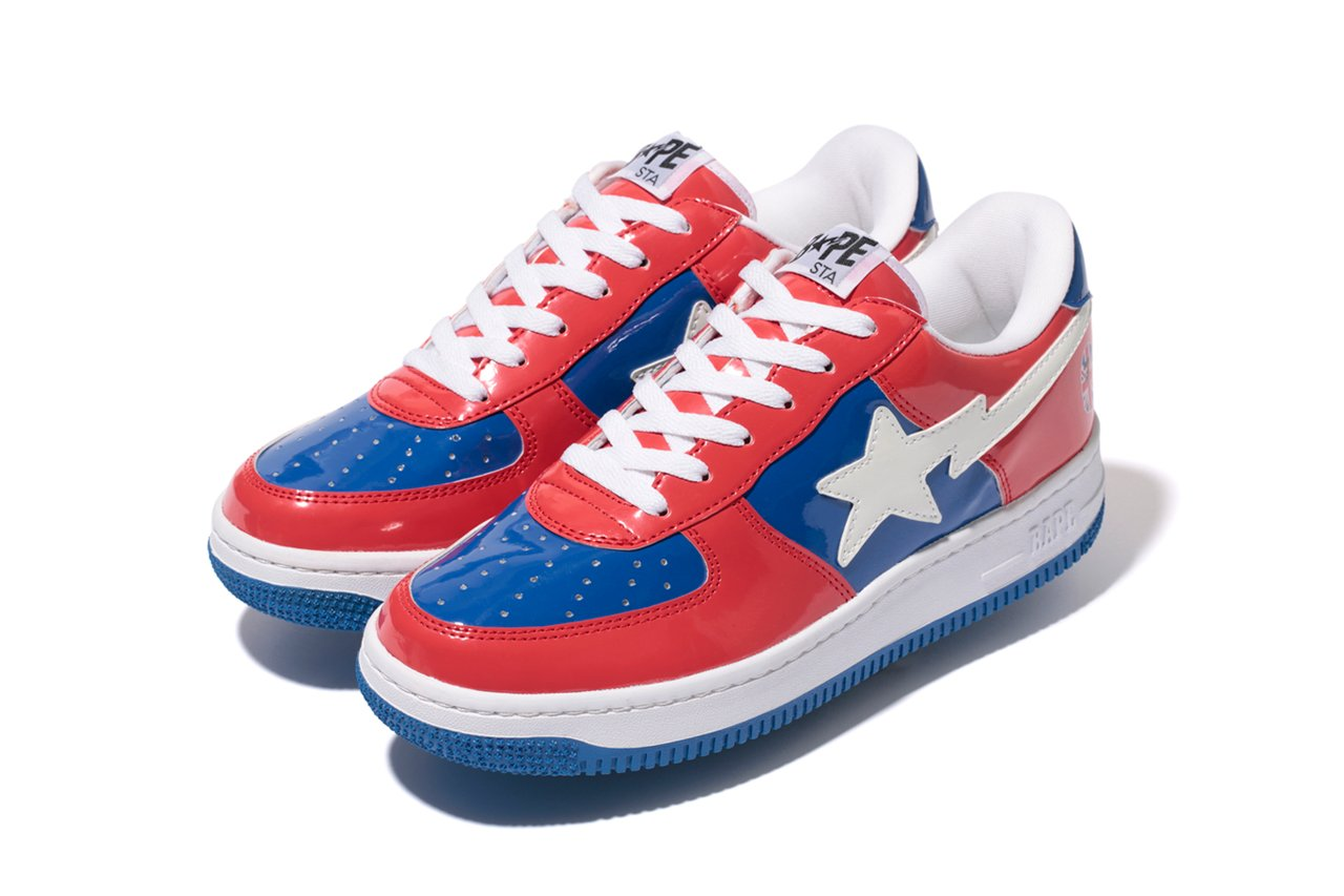 A Bathing Ape London 10th Anniversary Bapesta