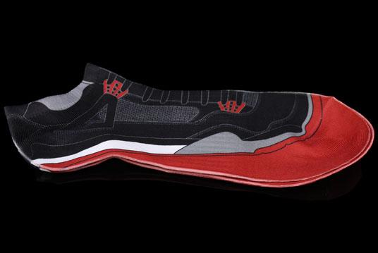 AJIV 'Black/Cement' Retro Sublimated Bootie