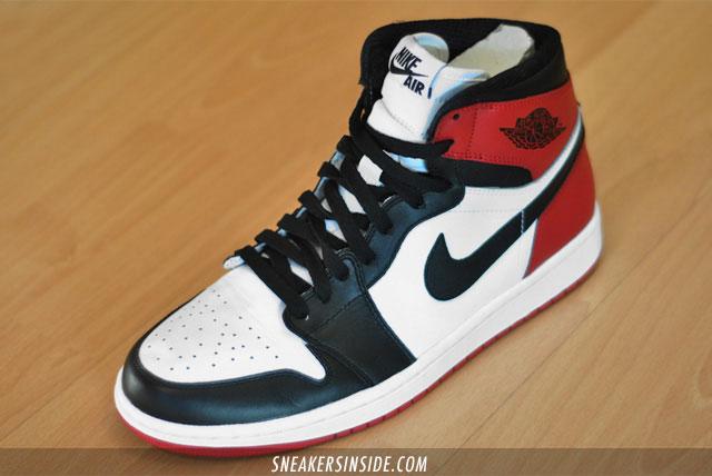 Air Jordan 1 'Black Toes' - 2013