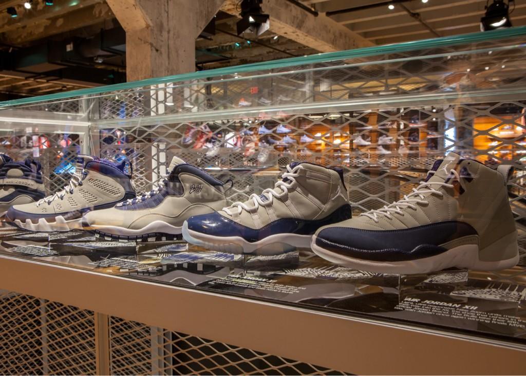 Air Jordan 'Hoyas' Collection at Nike Georgetown