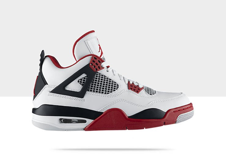 Air Jordan IV (4) 'Fire Red' Restock at NikeStore