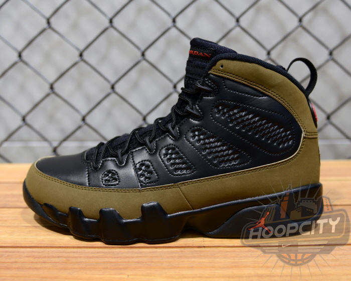 Air Jordan IX (9) 'Olive' - New Images