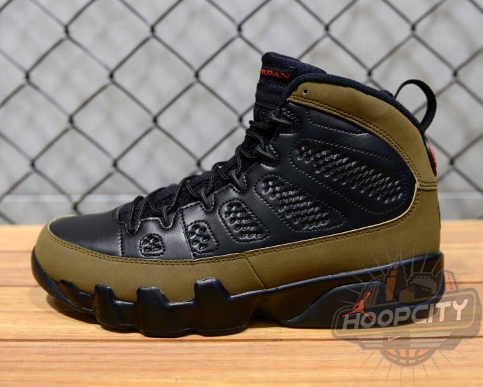 classic fit 7f5dc 443ea Air Jordan IX (9) 'Olive' - New Images | SneakerFiles