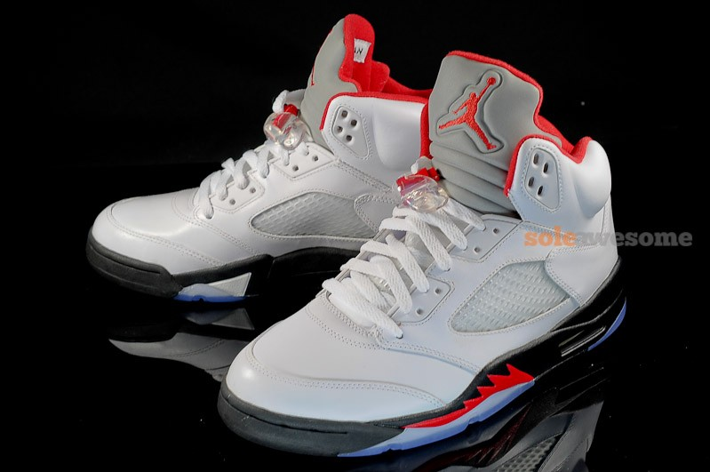 purchase cheap 989ff 57731 Air Jordan V (5)  Fire Red  - New Images