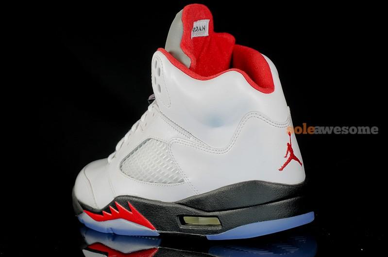 Air Jordan V (5) 'Fire Red' - New Images