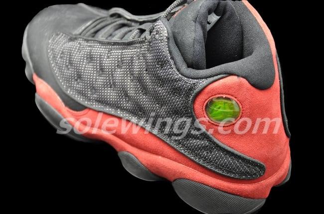 Air Jordan XIII (13) 'Black/Red' - New Images