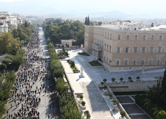 Athens Joins Global Nike We Run Movement