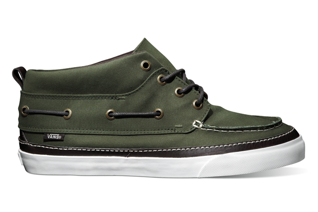 Barbour x Vans California Classic Waxed Collection
