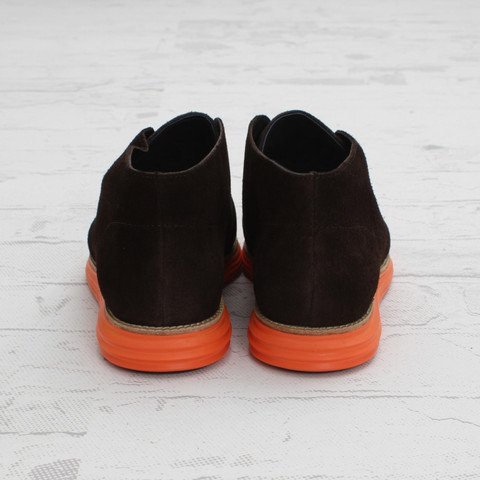 Cole Haan LunarGrand Chukka 'Woodbury Suede/Orange'