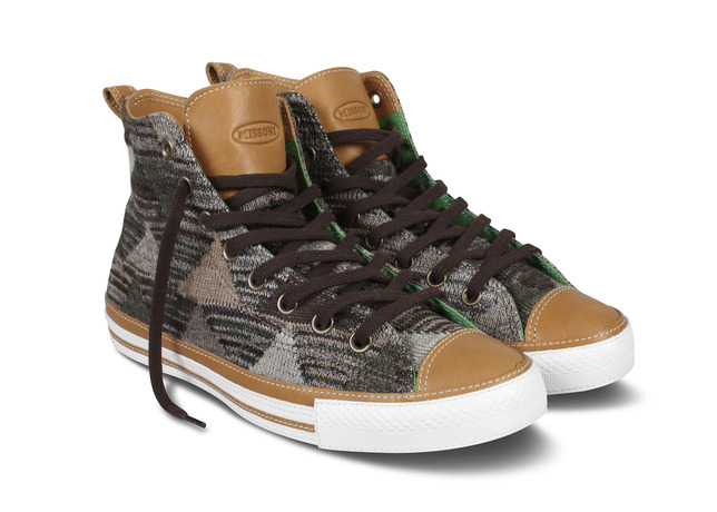 Converse Launches Holiday 2012 Missoni for Converse Collection