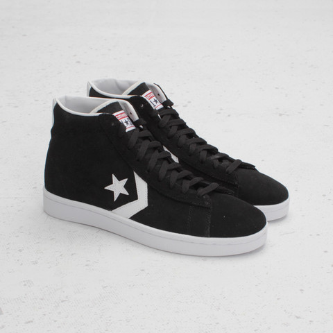 converse pro leather mid suede