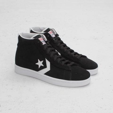 Converse Pro Leather Mid 'Black/White'