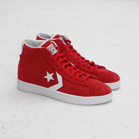 Converse Pro Leather Mid 'Varsity Red'