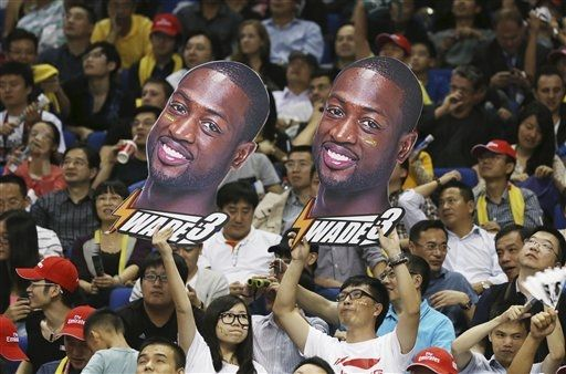 Dwyane Wade Dons 'Shanghai' Li-Ning Signature for China Games Conclusion