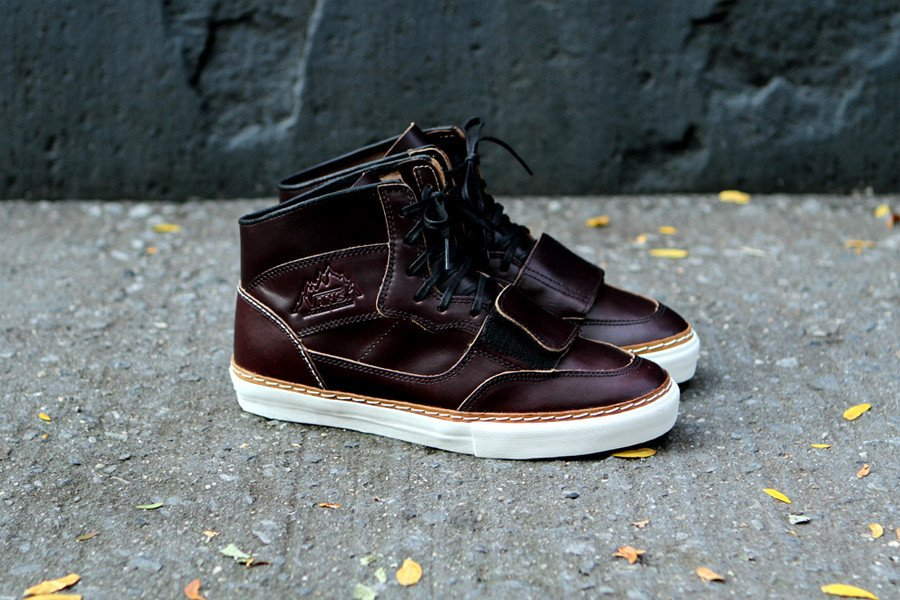 Horween x Vans Vault Mountain Decon LX 'Brown'