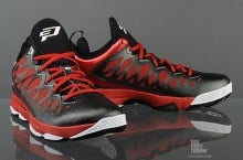 Jordan CP3.VI 'Black/White-Gym Red' at SFD